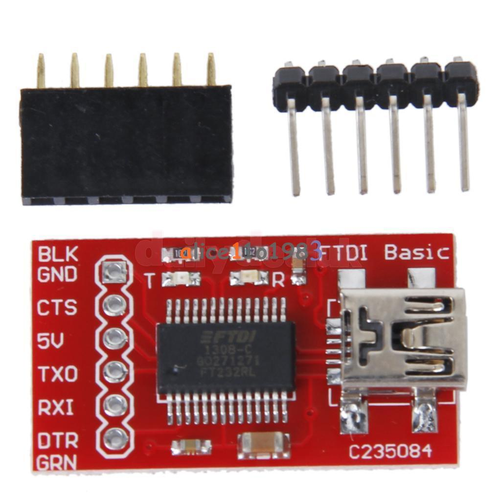 Ft232rl Ftdi Usb 2 0 To Ttl Serial Adapter Module For