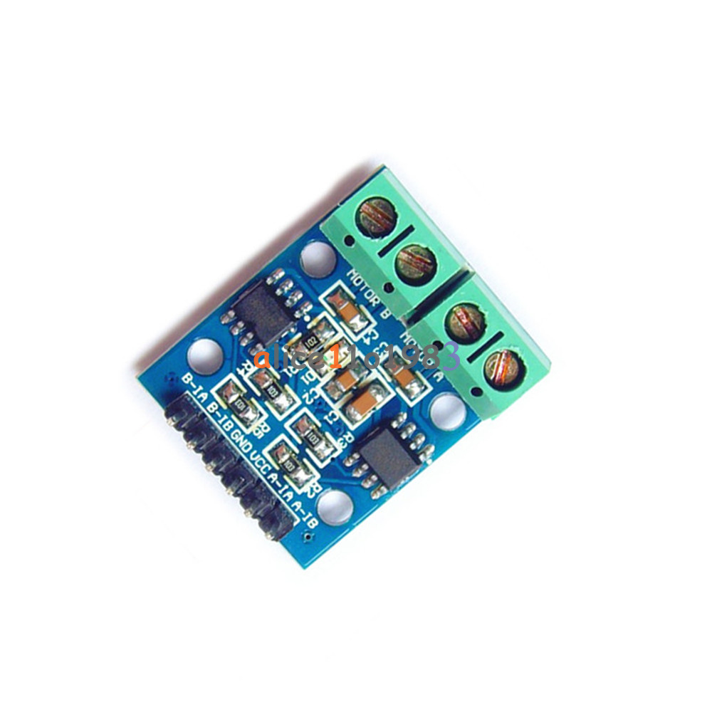 Arduino Motor CC usando Integrado L293D alonsodub