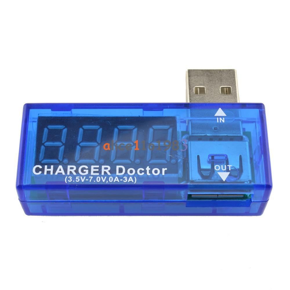 New usb charger doctor voltmeter ammeter amp voltage