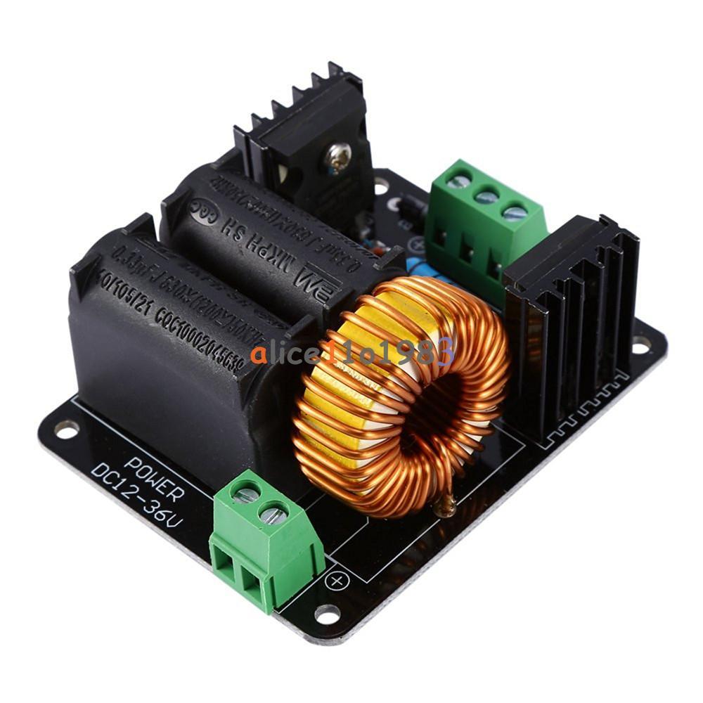 Ignition Coil Input Voltage: 12v-36V ZVS Tesla Coil Flyback Driver/Marx Generator/Jacob