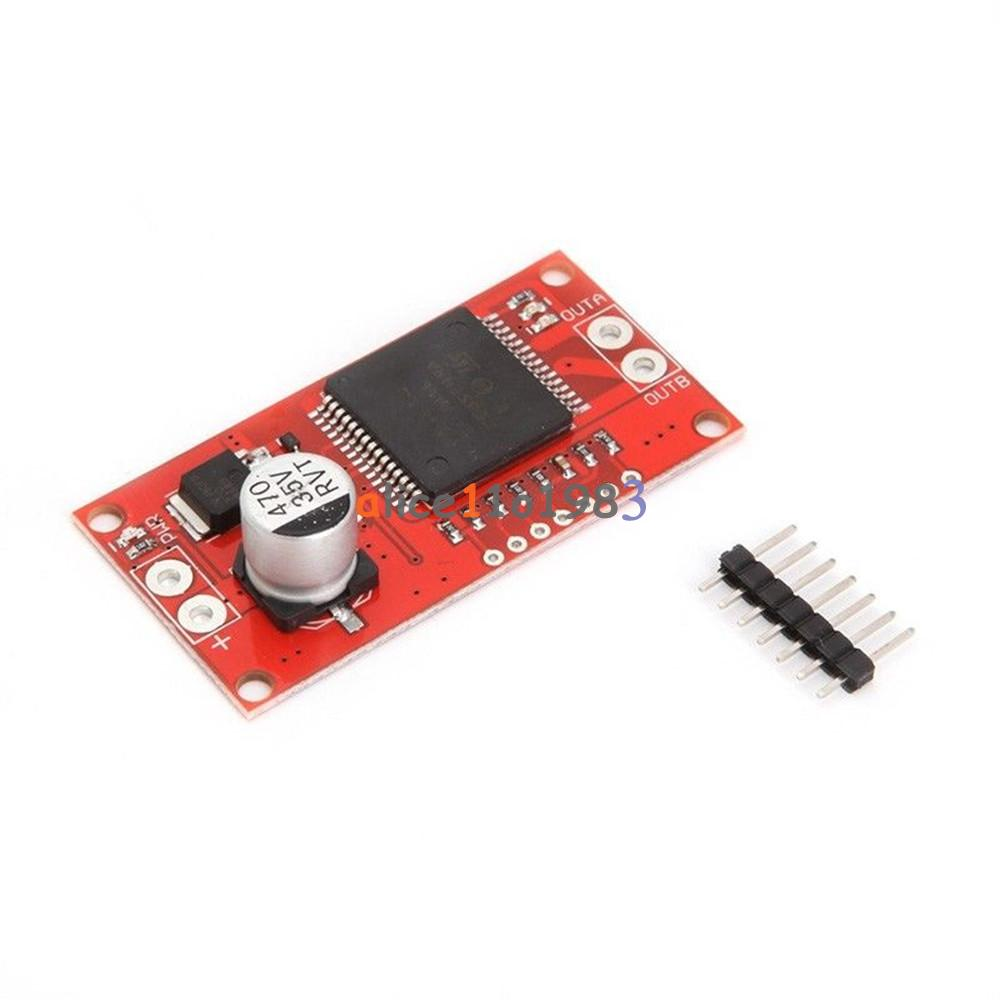 A mini vnh sp stepper motor driver monster moto shield