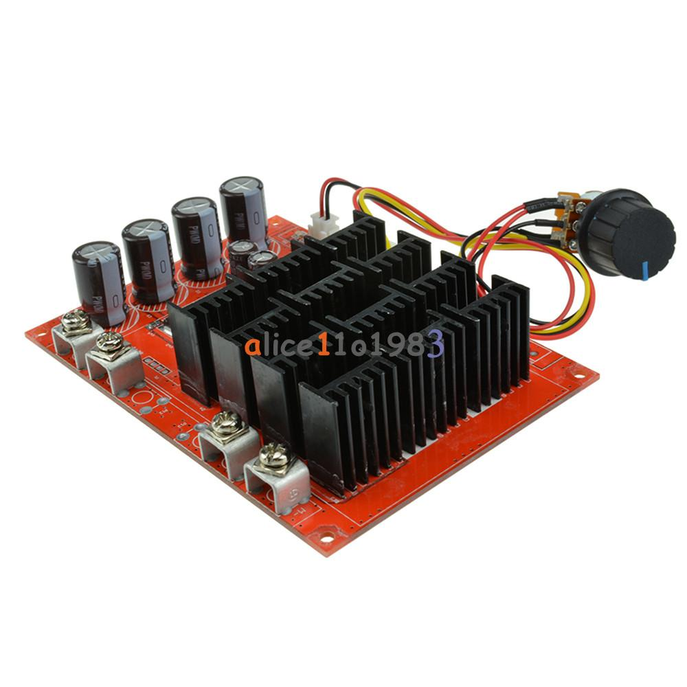 Dc 10 50v 60a Motor Speed Control Pwm Hho Rc Controller