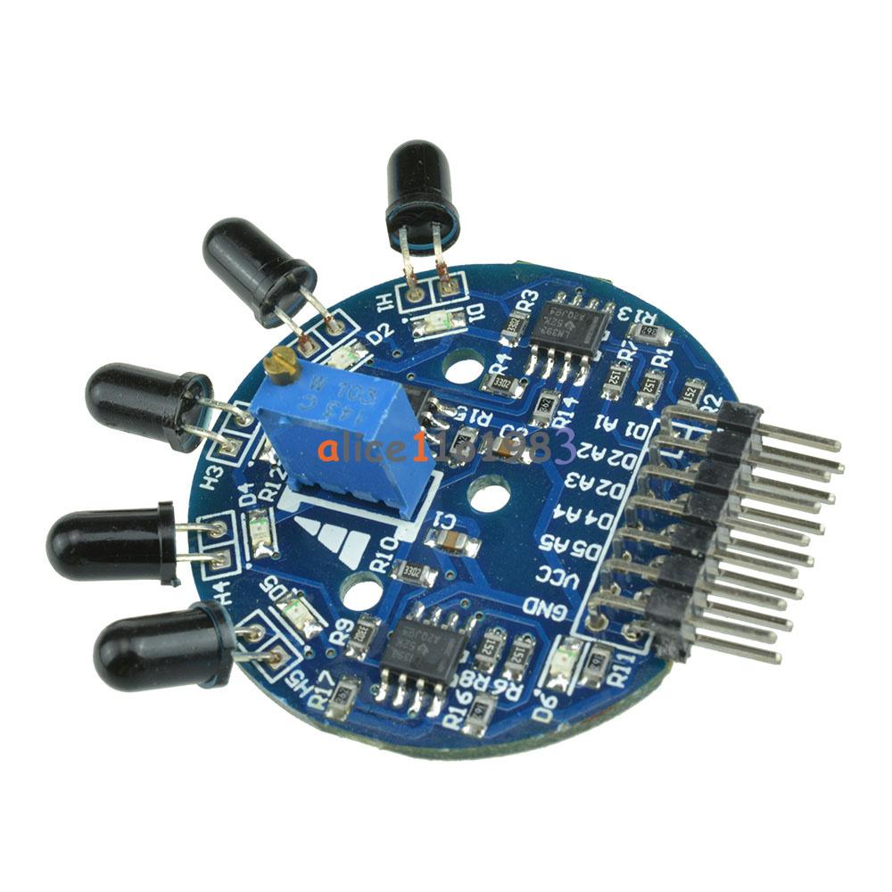 Way flame sensor module digital analog output fire