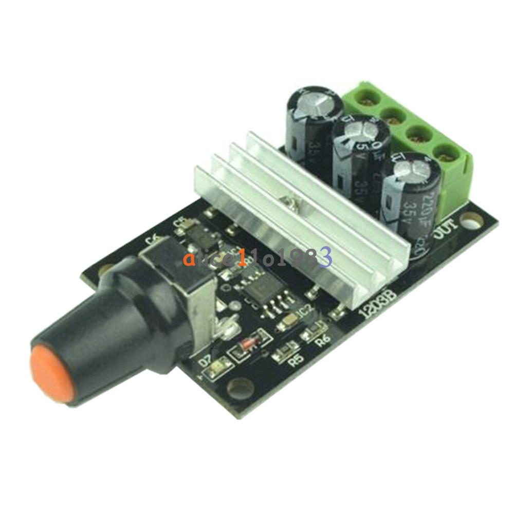 Dc 6v 28v 3a pwm motor speed varible regulator for Dc motor with speed control