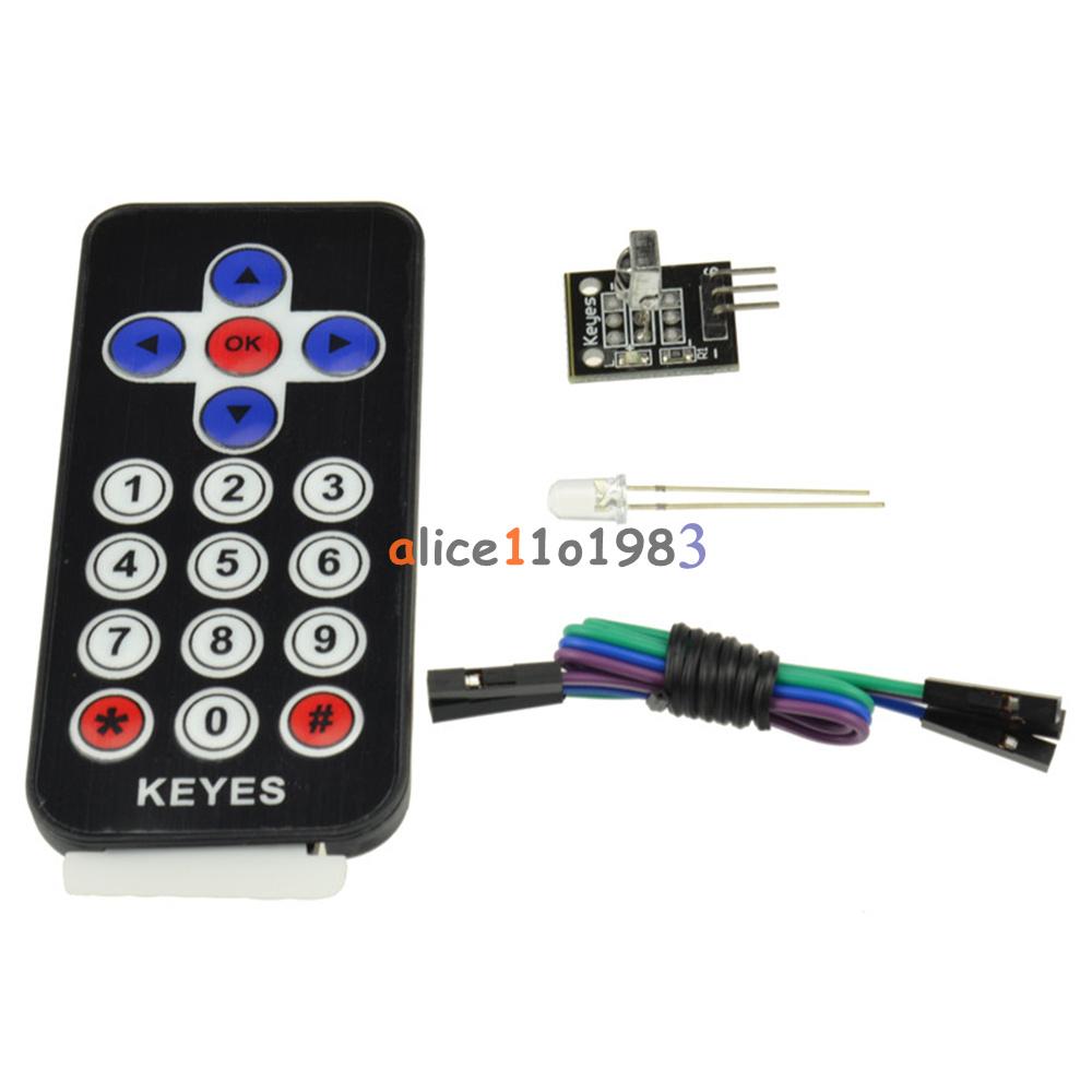 Remote Ir Sensor : Hx vs arduino infrared ir wireless remote control