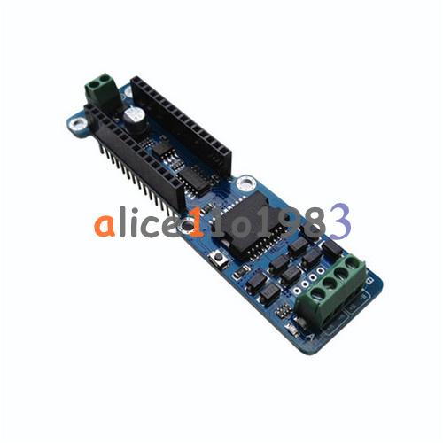 L298p 2a dual channel dc stepper motor driver shield for Arduino nano motor control