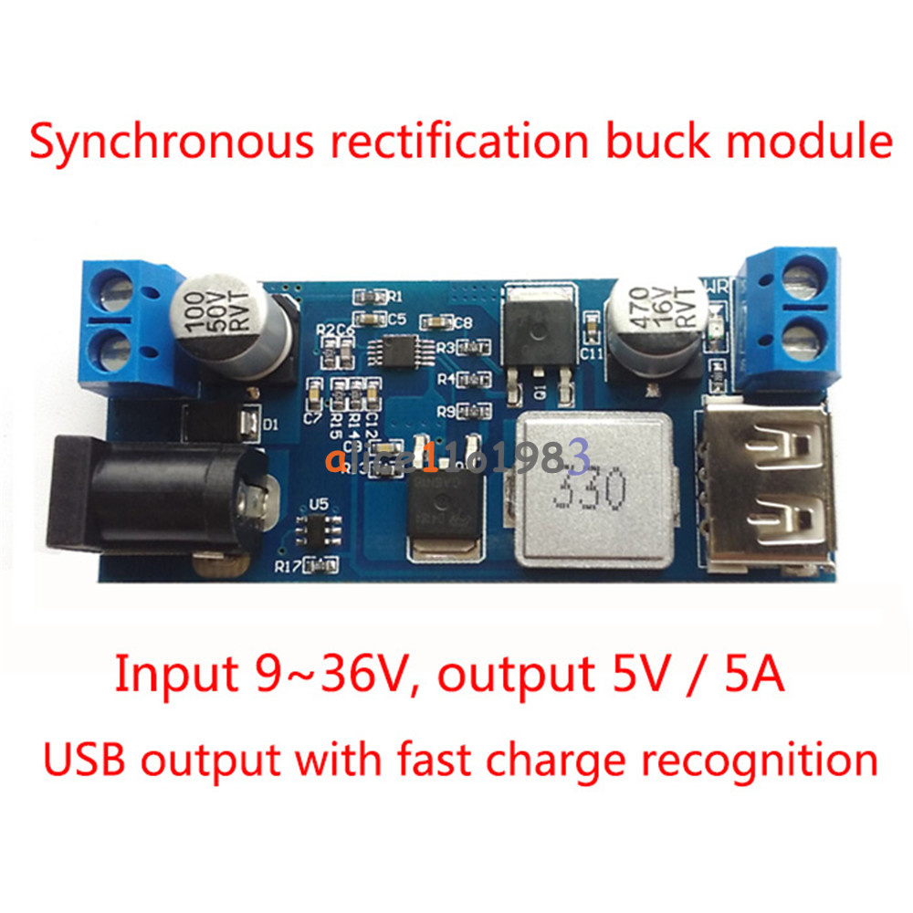 Details about 24V / 12V To 5V 5A Power Module DC-DC Step-Down Power Supply  Converter