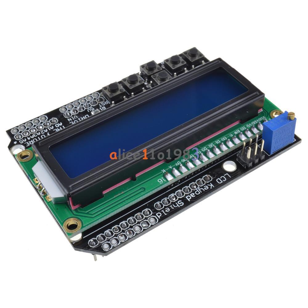 Lcd board keypad shield blue backlight for arduino