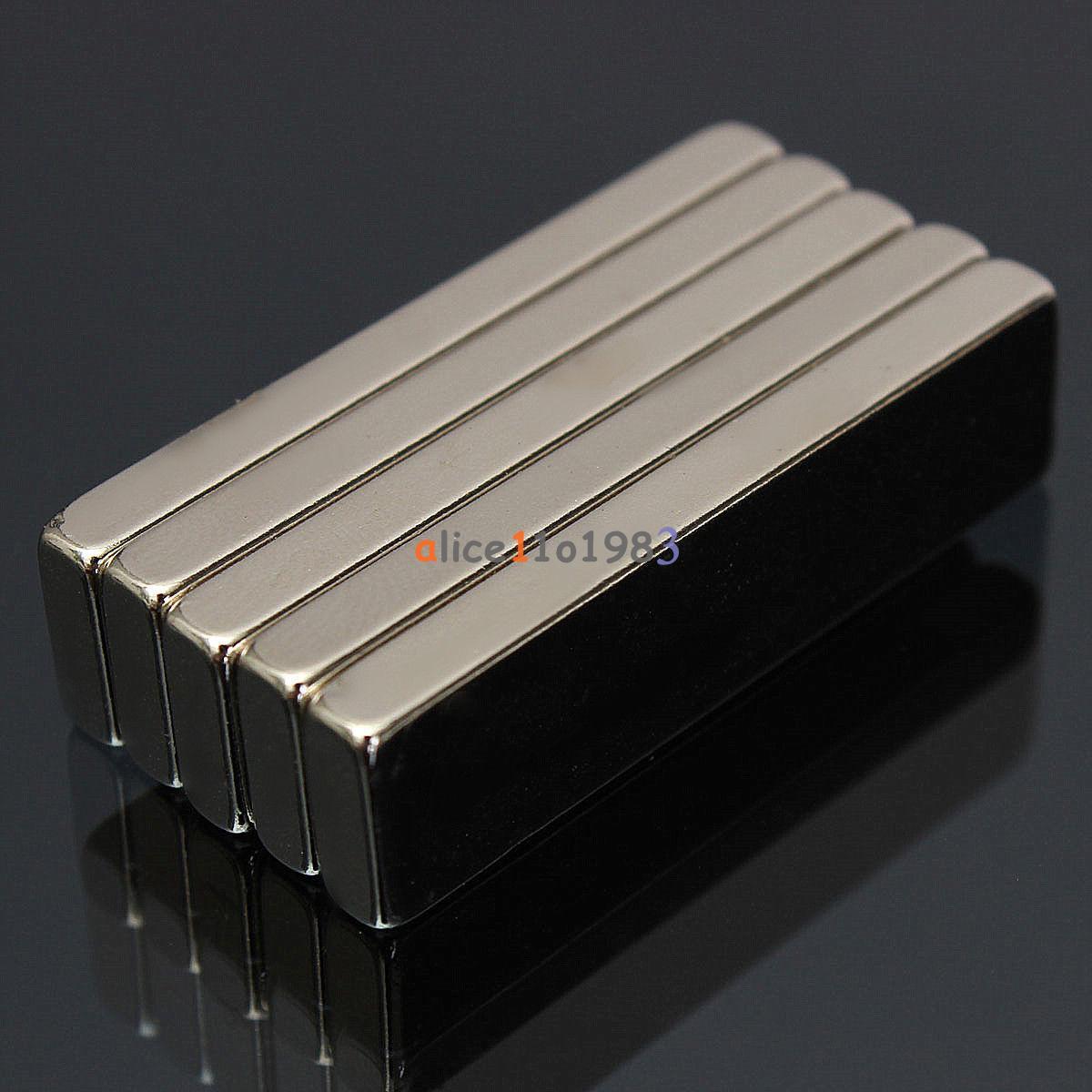 5/10PCS Super Round Strong Fridge Magnets Rare-Earth Neodymium Magnet N50 N52 | eBay