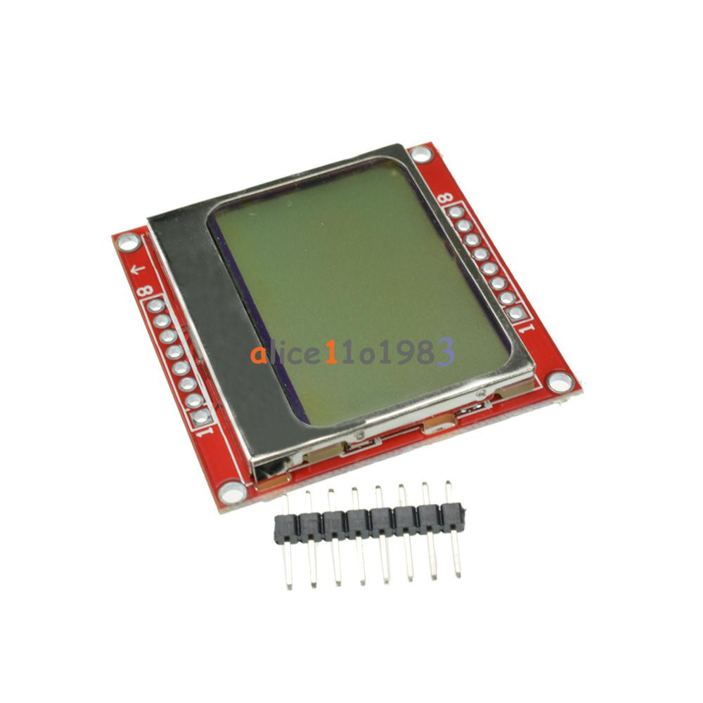 Nokia 5110 lcd module monochrome display screen 84 x 48 for arduino - Does Not Apply