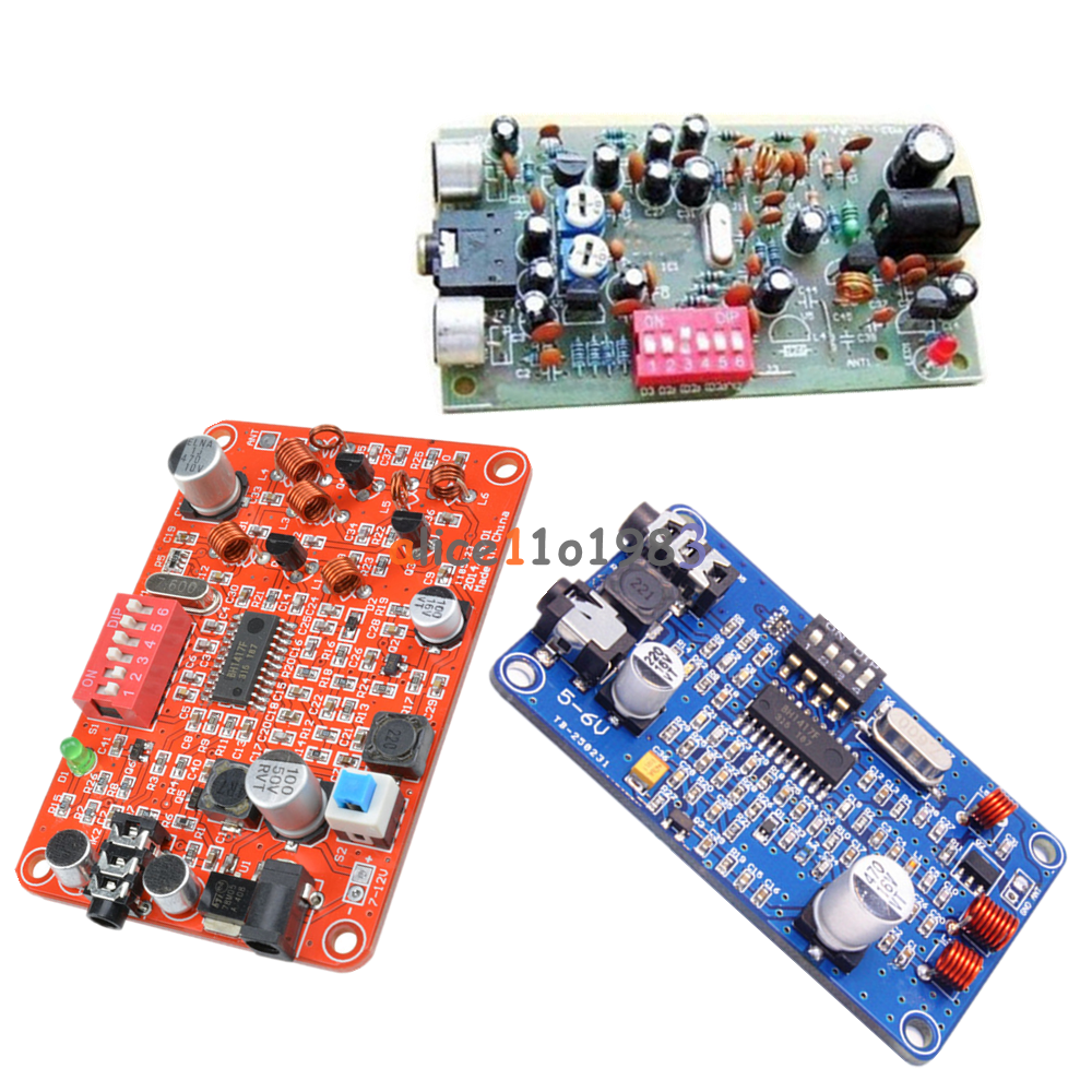Ch2 Bh1417 Wireless Fm Stereo Transmitter Module Digital Radio Stereofmtransmittercircuitpng Station Pll Kit
