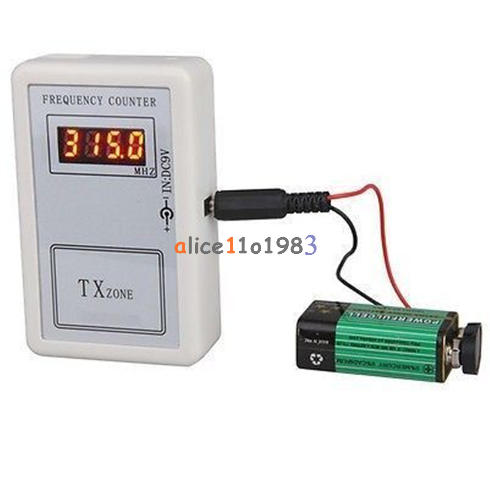 Portable Frequency Counter Digital Led For Calibrate