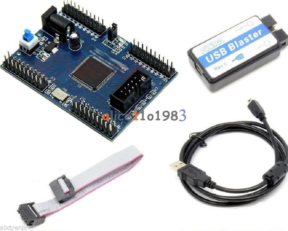 Electronic Components & Supplies Integrated Circuits Altera Max Ii Epm240 Cpld Board & Usb Blaster Fpga Programmer Epm240t100c5n Development Kit For Fast Shipping