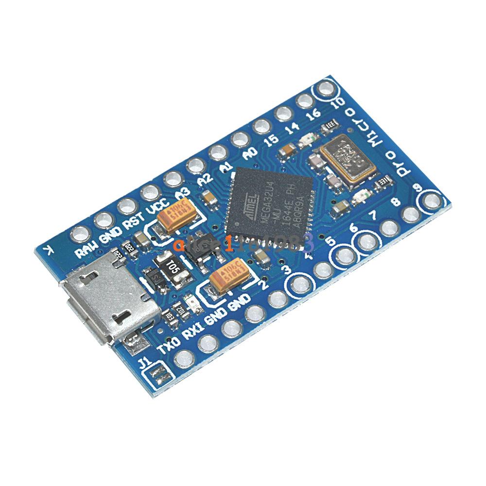 Leonardo pro micro atmega u for arduino ide