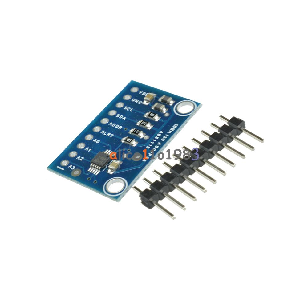 Bit i c ads module adc channel with pro gain