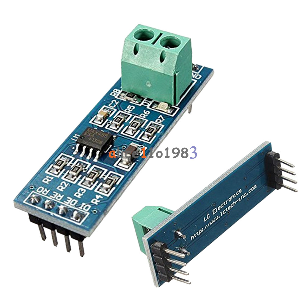 TTL RS-232 RS232 to RS-485 RS485 MAX485 Module 1.2KM Serial Adapter ...