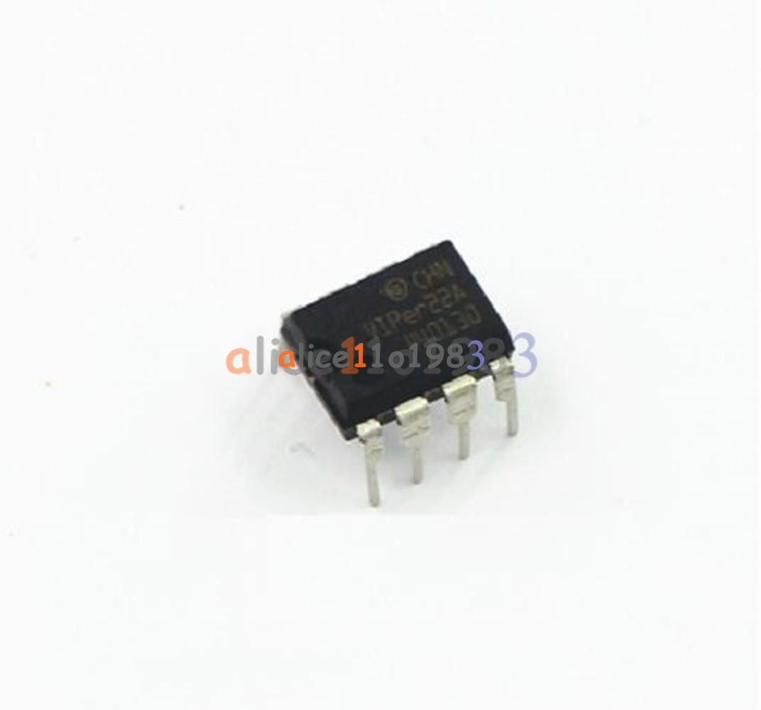 2pcs VIPER22A DIP8 DIP-8 ST Smps Primary Switcher IC Switch