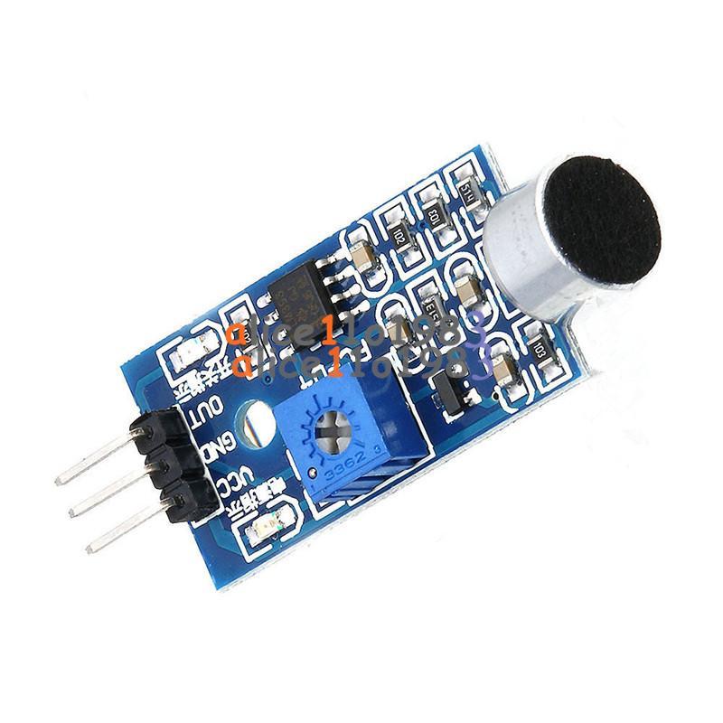Microphone sensor high sensitivity sound detecte voice