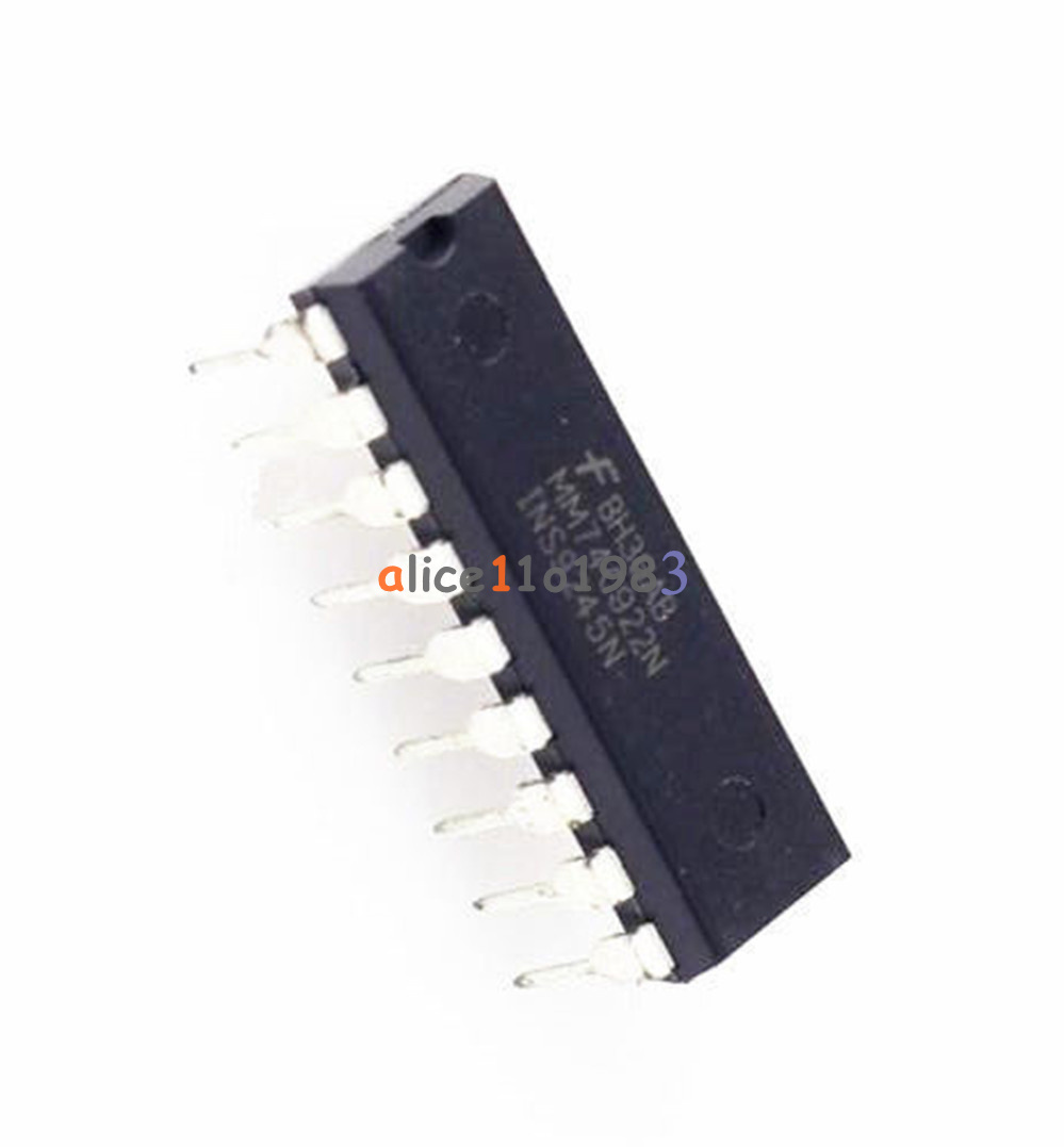 5PCS IC MM74C922N MM74C922 DIP-18 FSC ENCODER 16-KEY