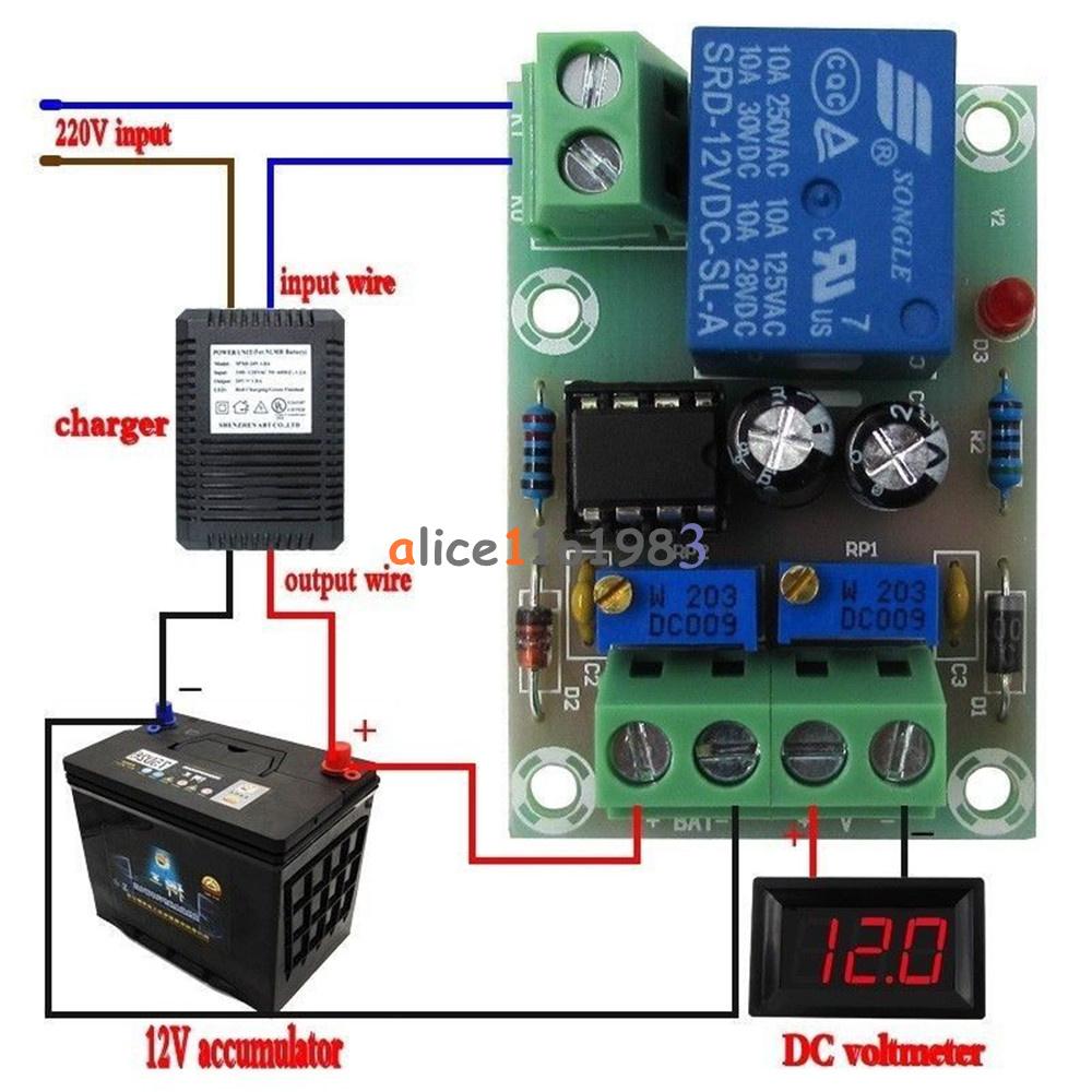 how to connect 6 12v batteries to make 24v