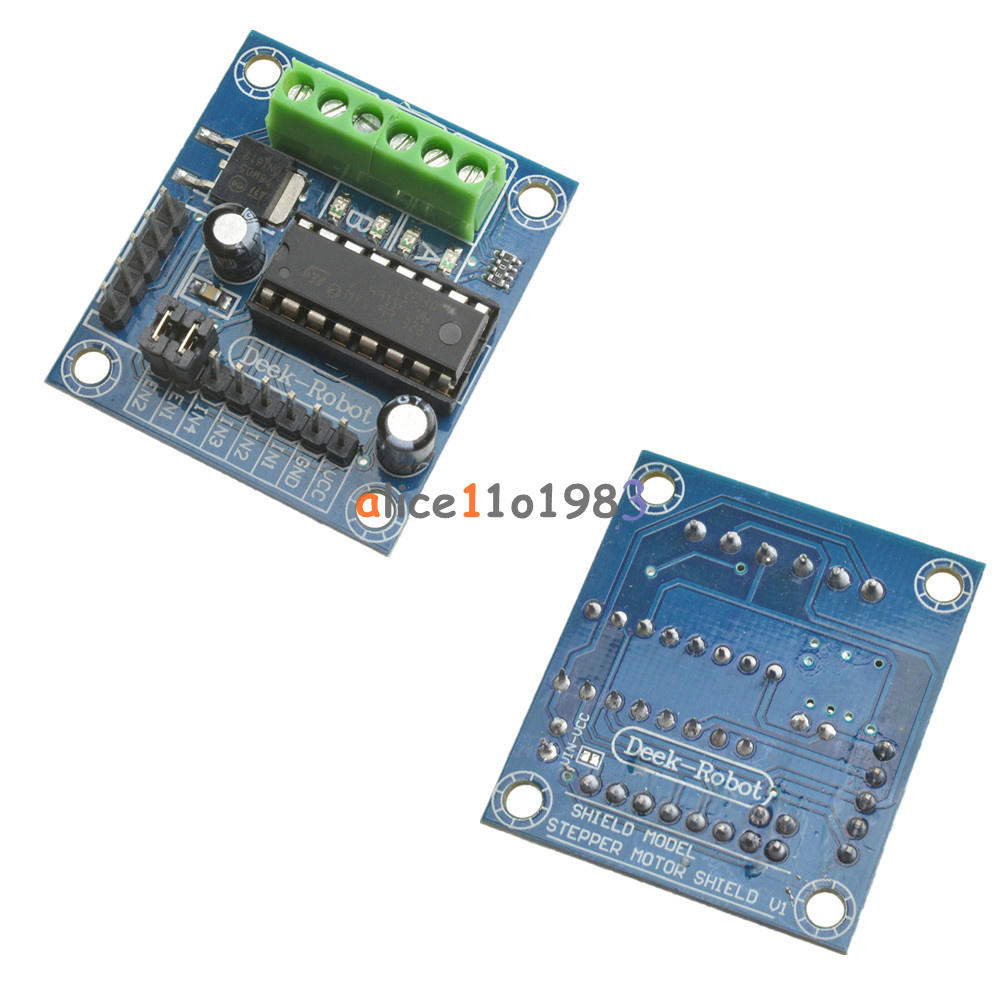 1 2 5 10pcs mini motor drive shield expansion board l293d for L293d motor driver module