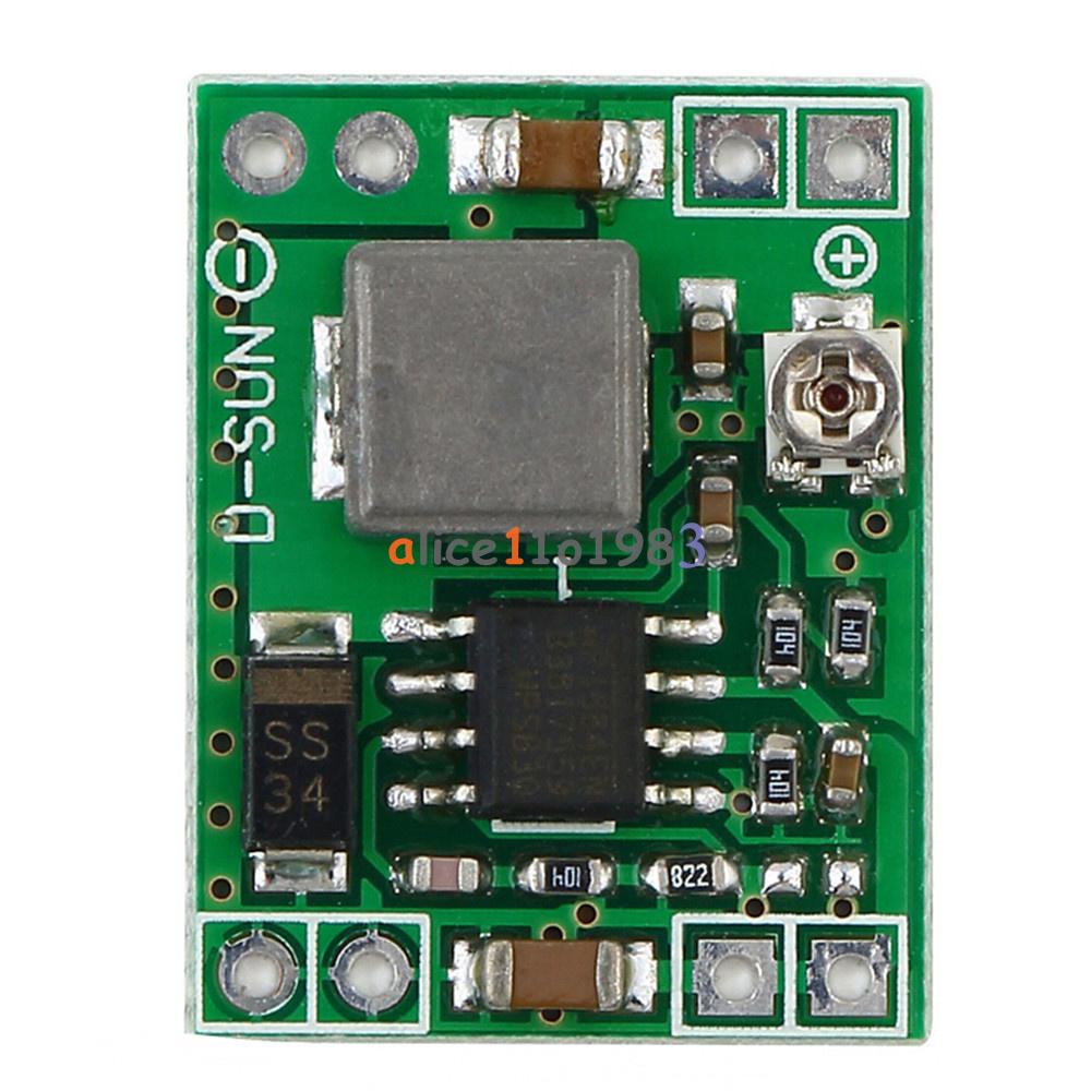 5pcs 3a Dc Dc Converter Adjustable Step Down Power Supply