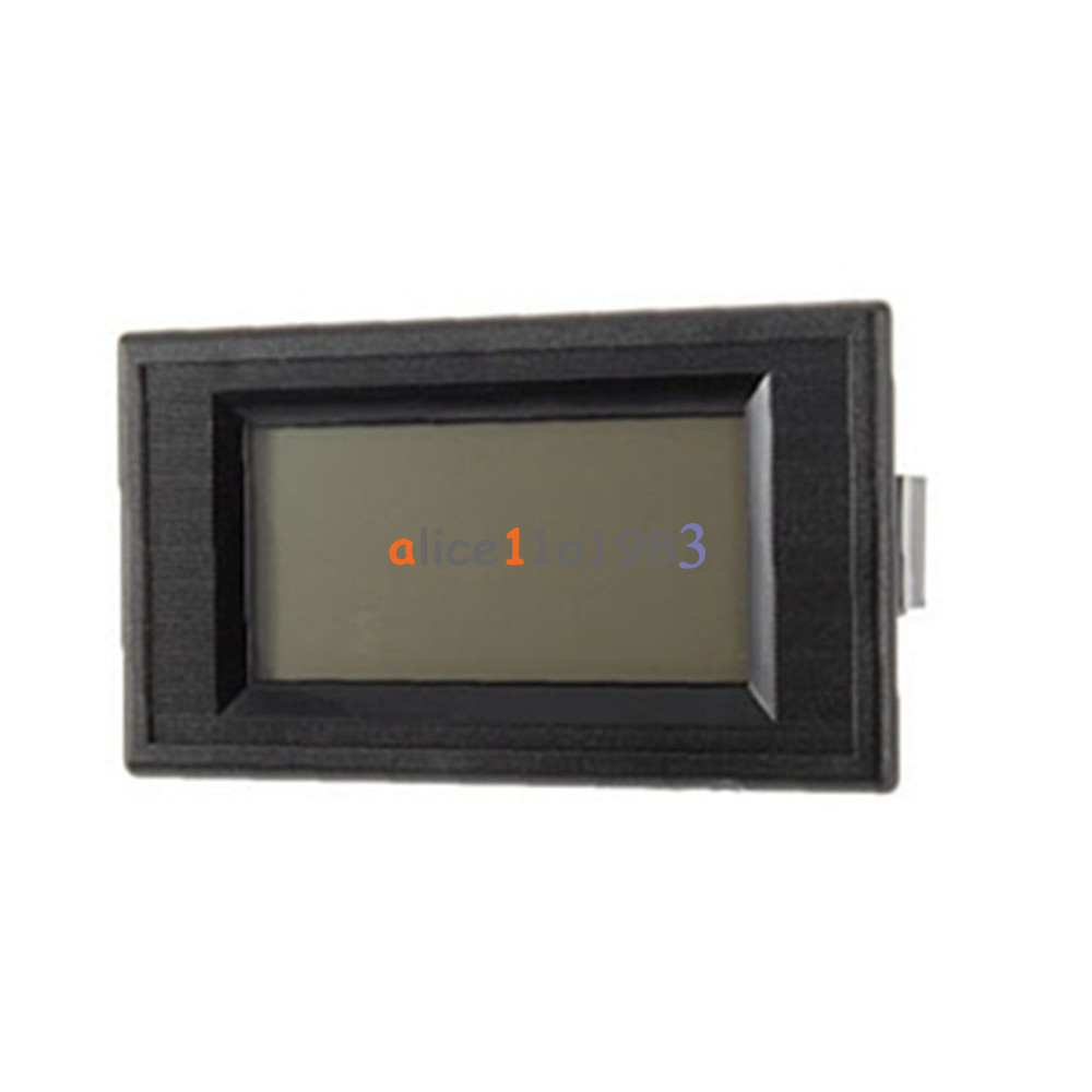 Electrical Distribution Panel With Meter : Wire digital blue lcd ac v volt panel meter