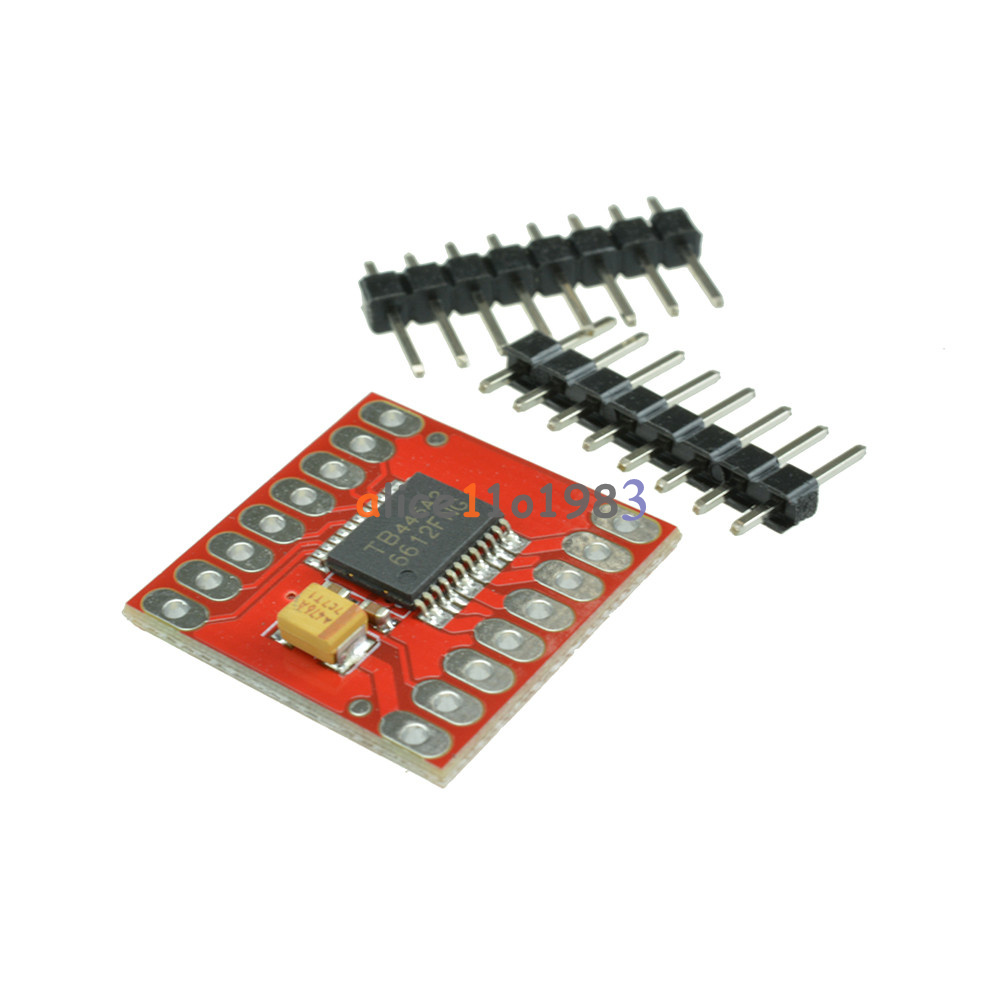 Tb6612fng l298n dual motor driver stepper motor driver for Driving stepper motor with arduino