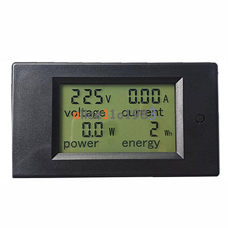 Ac Power Sensor : A ac digital lcd panel power meter monitor energy