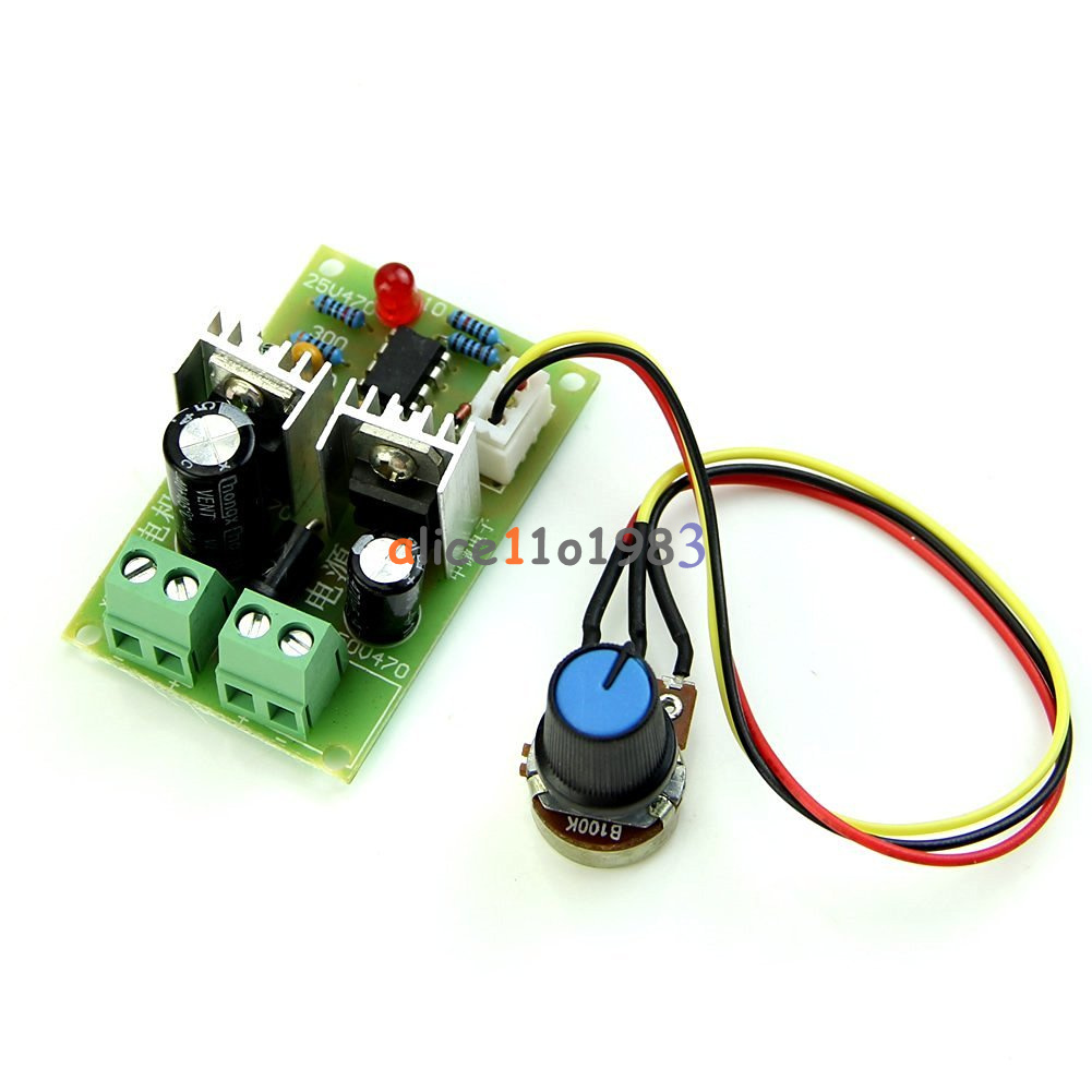12v 36v pulse width pwm dc motor speed regulator for Raspberry pi motor speed control