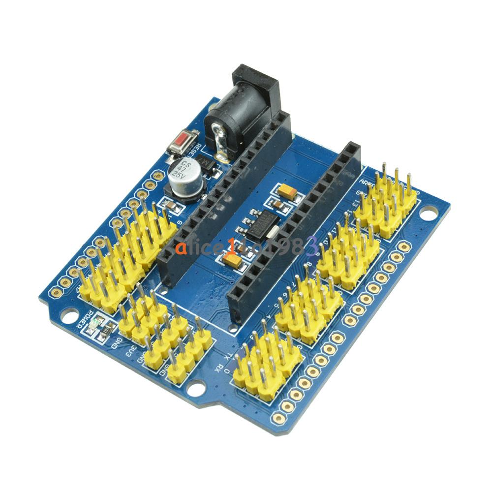 Nano i o expansion sensor shield for arduino uno r