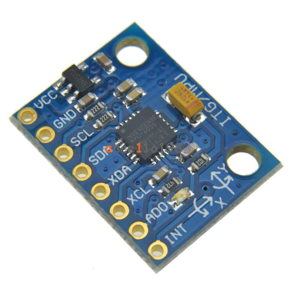 New Mpu 6050 Module 3 Axis Gyroscope Accelerometer Module