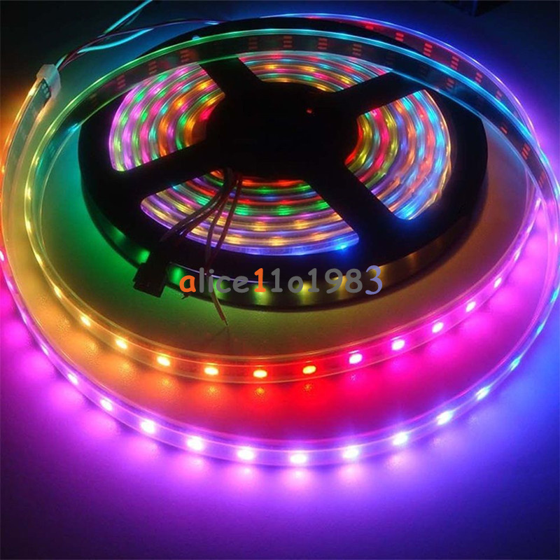 WS2812B 5050 RGB LED Strip 1M 60 Leds 60LED Individual