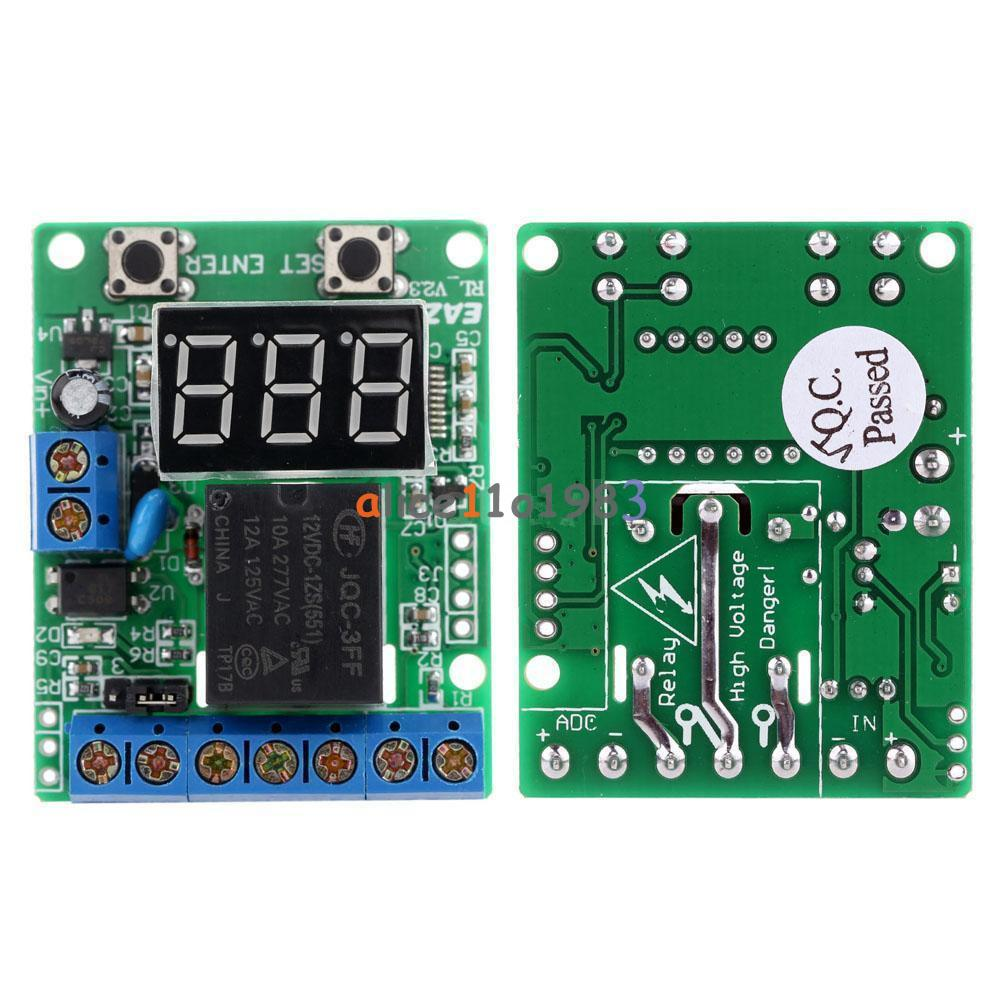 V Voltage Control Delay Switch OverVoltage Under Voltage - 12v low voltage protection relay