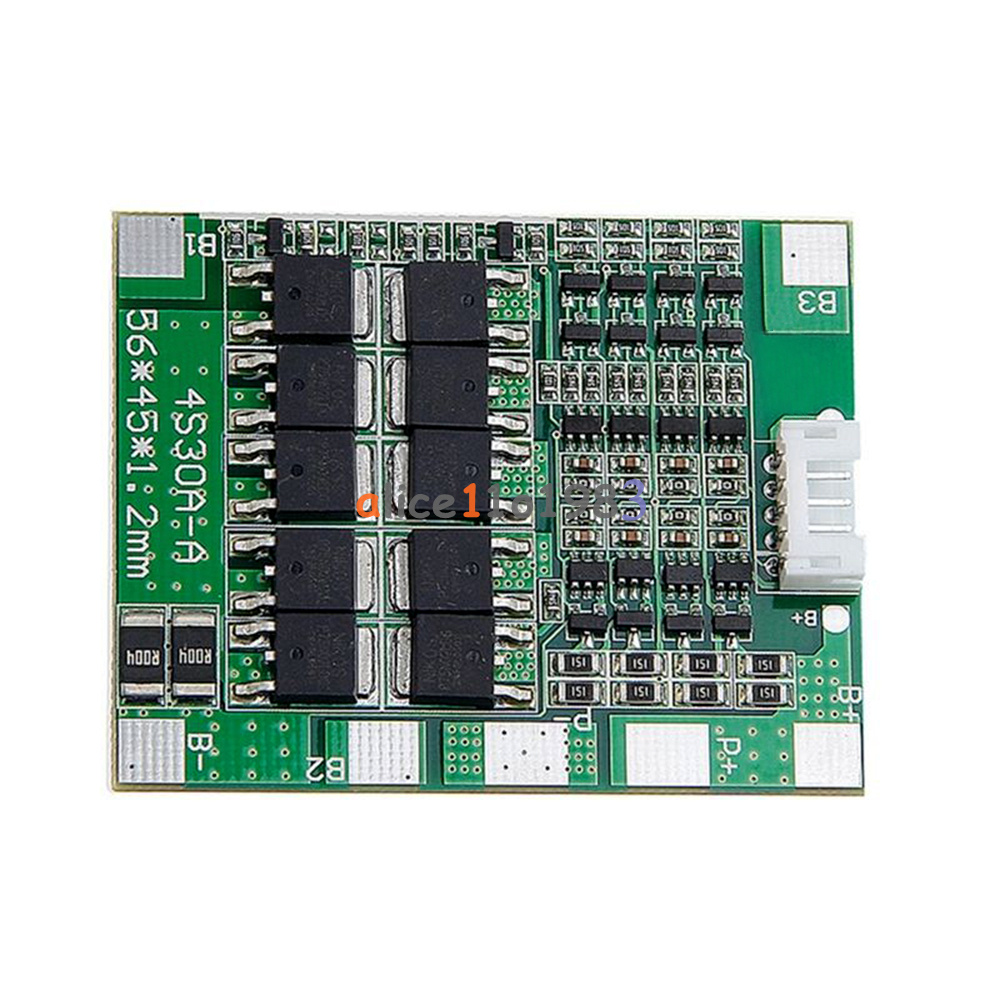 14.8V 30A BMS PCB Protection Board 18650 Li-ion Lithium Battery Cell Balance