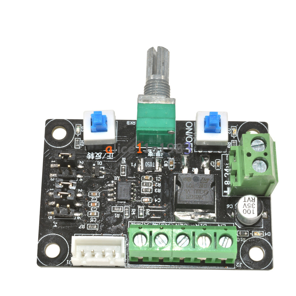 12v 24v stepper motor driver controller pwm pulse signal for Controlling a stepper motor