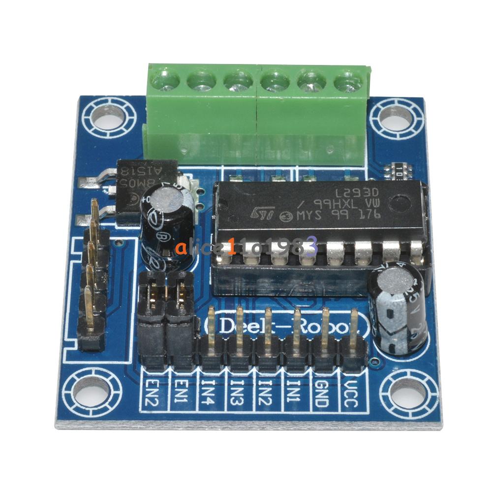 Pcs mini motor drive shield expansion board l d module