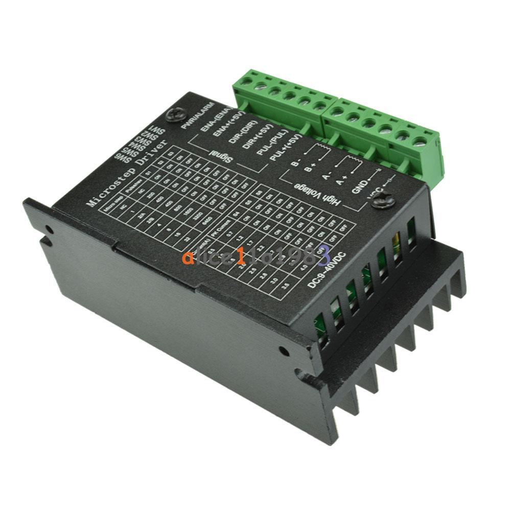 4a Tb6600 Stepper Motor Driver Controller 9 42v Ttl 16