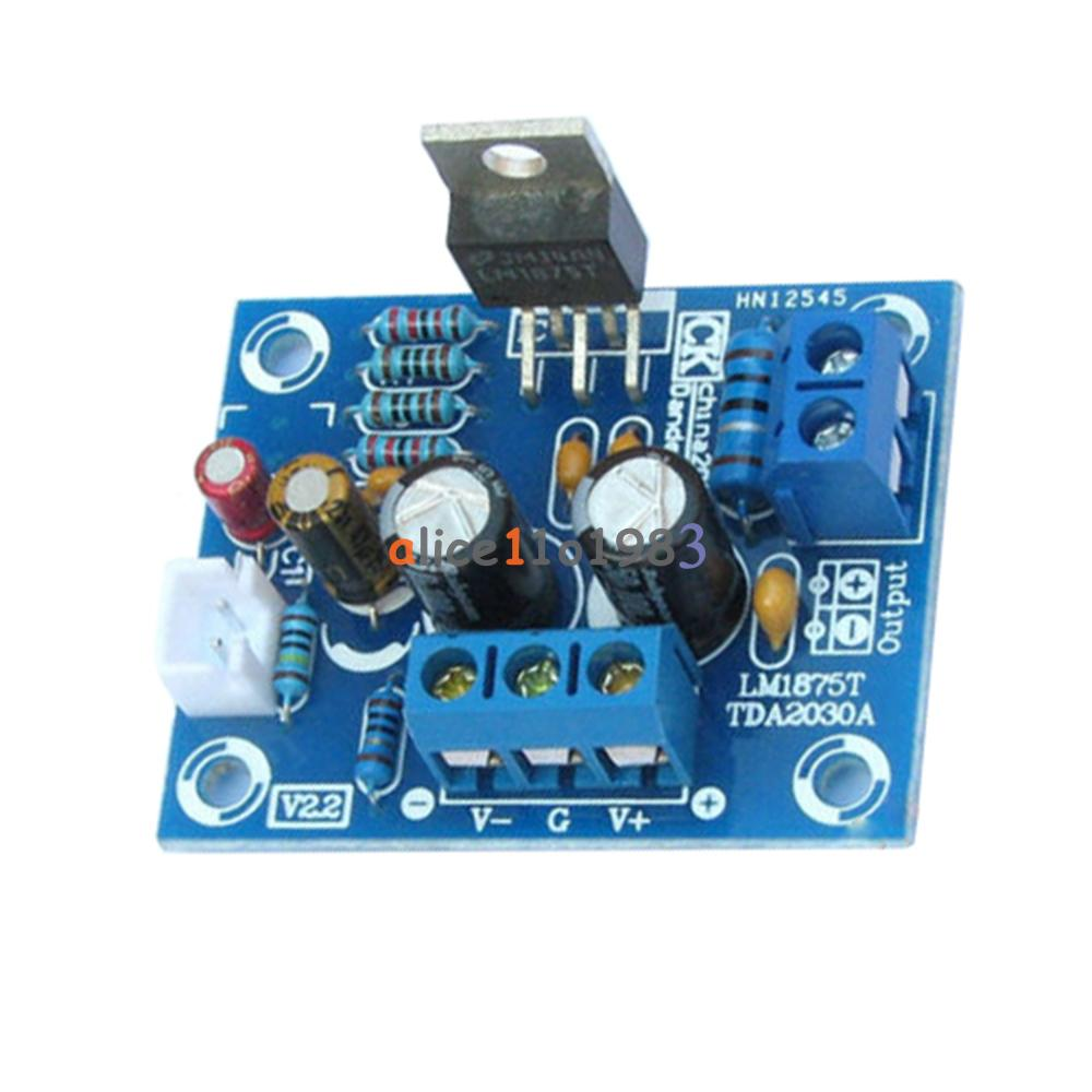 20w Hifi Mono Channel Lm1875t Stereo Audio Amplifier Board Module Using Lm1875 Electronic Circuits And Diagram Diy Kit