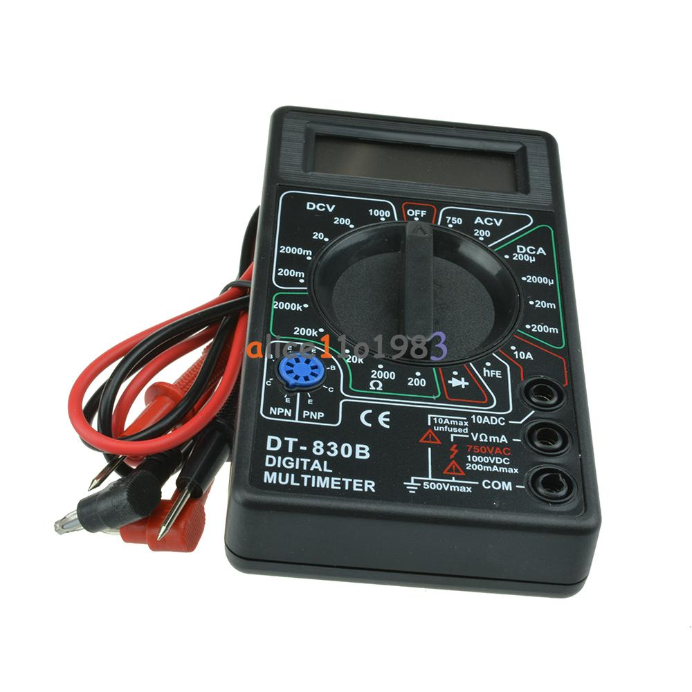 Ac Dc Digital Voltmeter Kit : Digital multimeter ac dc voltmeter ohmmeter electrical