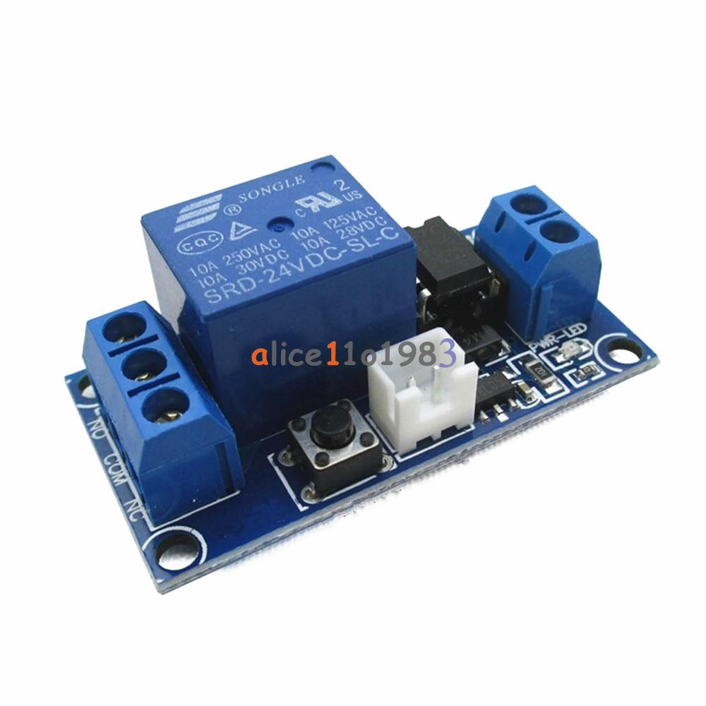 1 Channel Latching Relay Module Board 24v With Touch