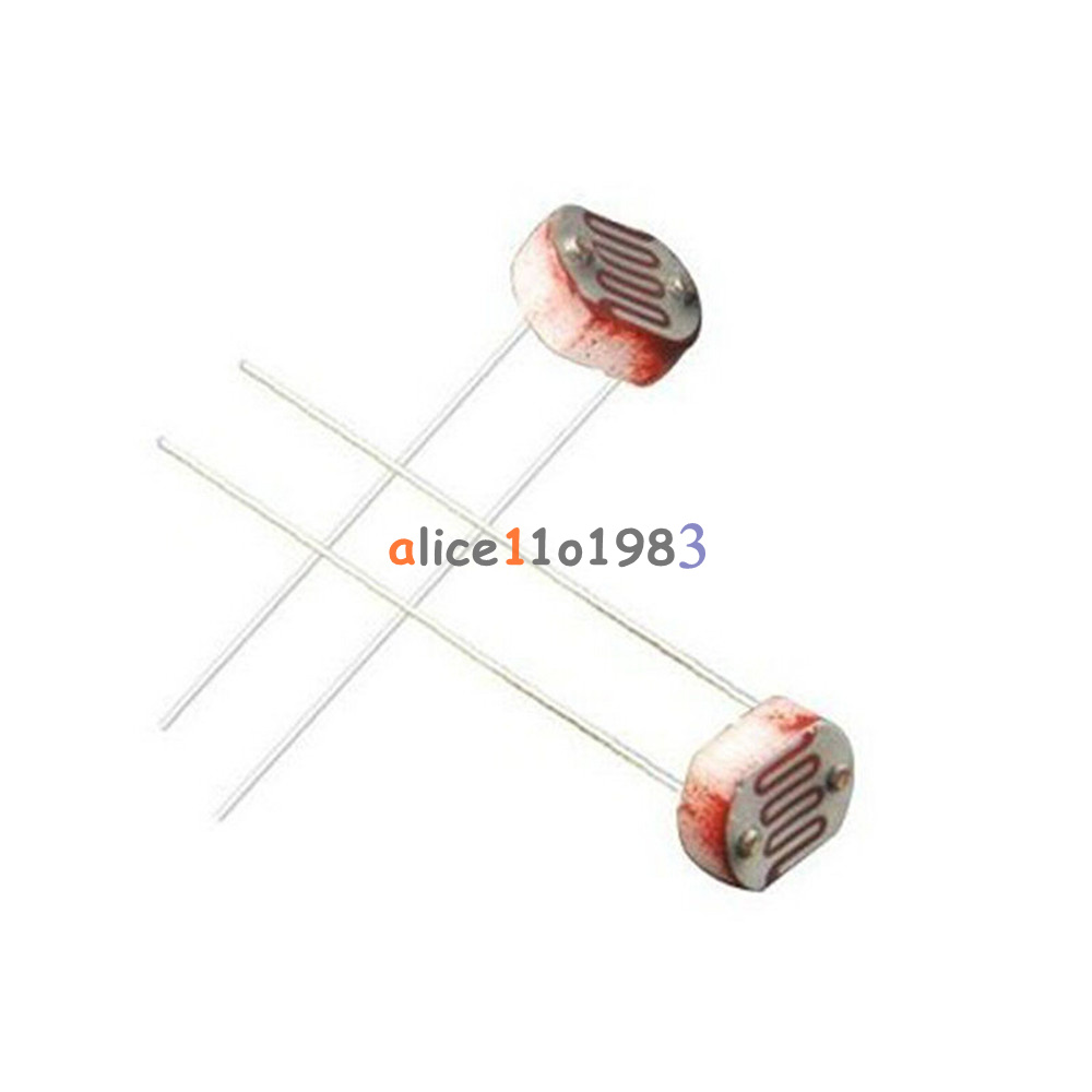 20pcs photo light sensitive resistor photoresistor