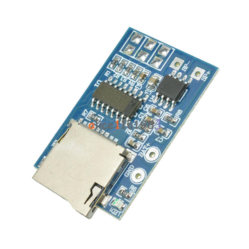 Gpd a tf card mp decoder board w amplifier module for
