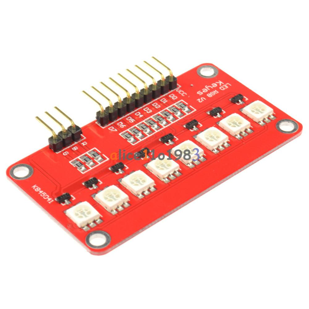 Fashion New Led Scm Printed Circuit Board Module 5050 Fullcolor Light