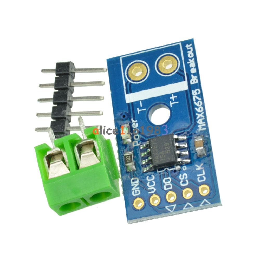 1PCS MAX6675 Thermocouple Temperature Sensor Module Type K SPI Interface
