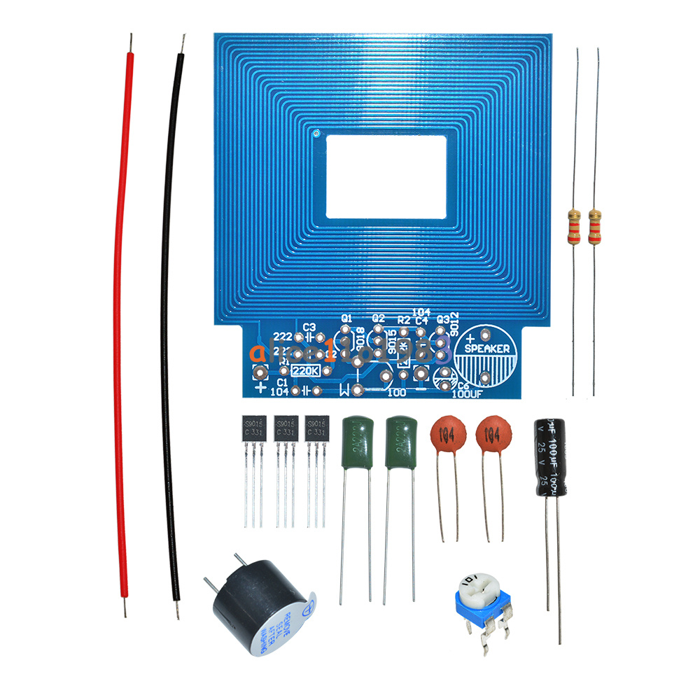 Simple Metal Detector Locator Electronic Production Dc 3v5v Pics Photos Build Your Own Projects Circuits Diy Kit Au