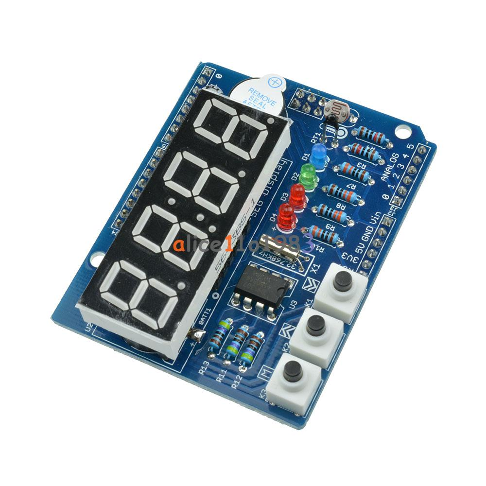 Rtc tm ds real time clock shield digital tube
