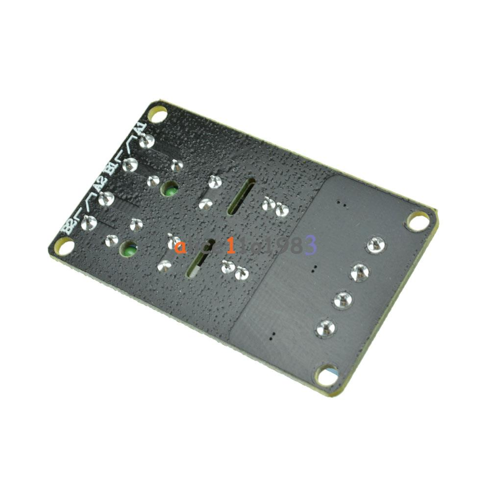 5v 2 Channel Omron Ssr G3mb 202p Solid State Relay Module With Dc 1 Board High Level Fuse For Resistive
