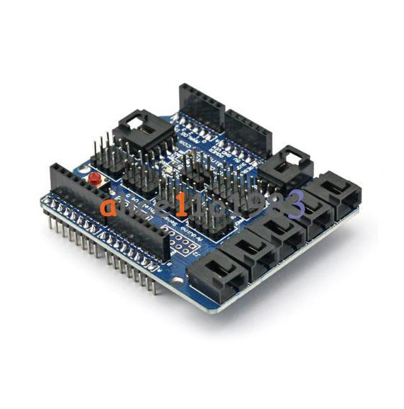 Arduino Uno Mega Duemilanove Sensor Shield V4 Digital