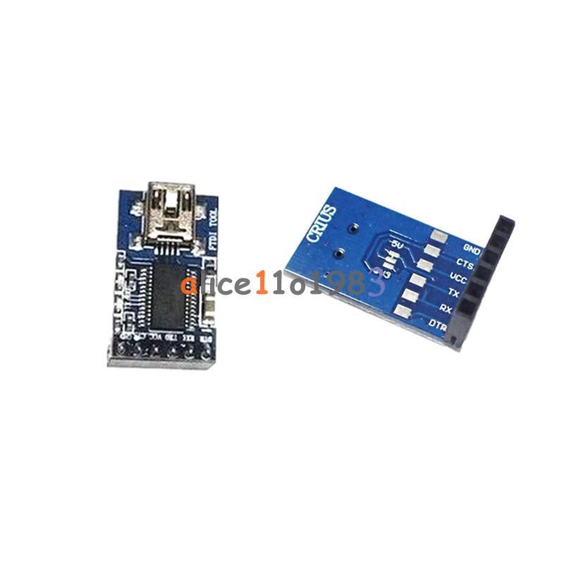 Ftdi basic breakout usb to ttl pin module ft rl